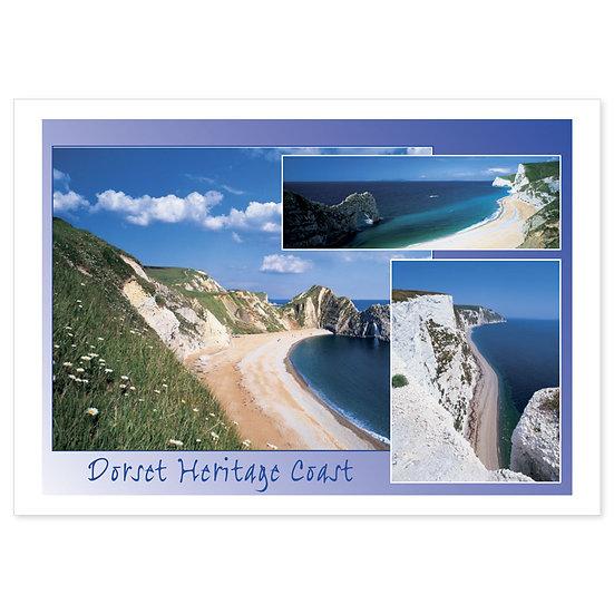Dorset Heritage Coast Compilation - Sold in pack (100 postcards)