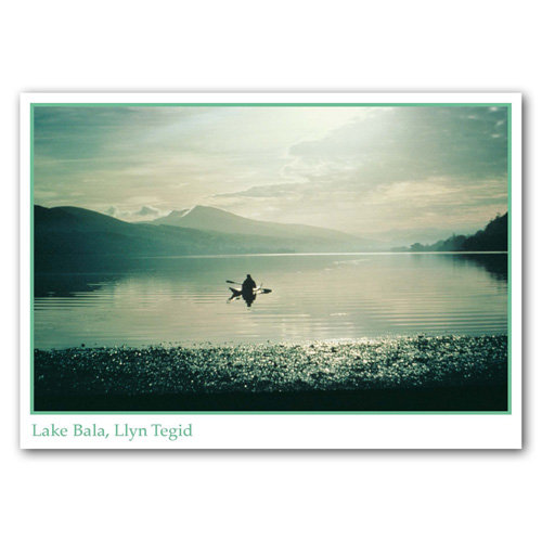 Bala Lake - Sold in pack (100 postcards)