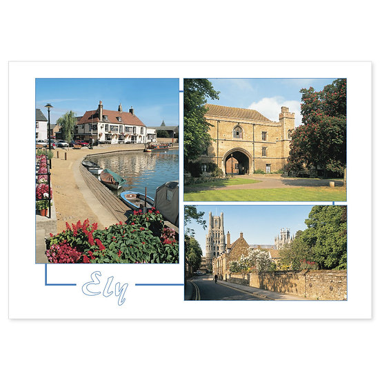 Ely Comp - Sold in pack (100 postcards)