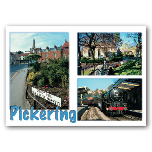 Pickering 3 View Comp - Sold in pack (100 postcards)