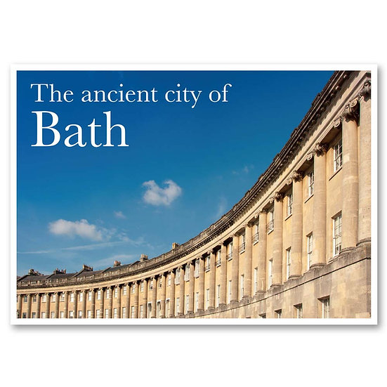 Bath, The Royal Crescent - Sold in pack (100 postcards)