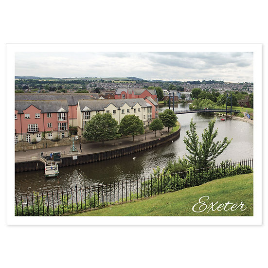 Exeter Quay - Sold in pack (100 postcards)