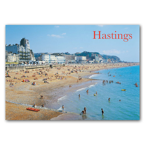 Hastings From Pier - Sold in pack (100 postcards)
