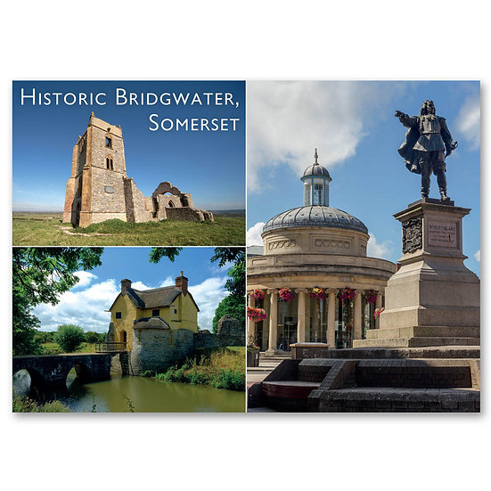Bridgewater, Historic Bridgwater - Sold in pack (100 postcards)