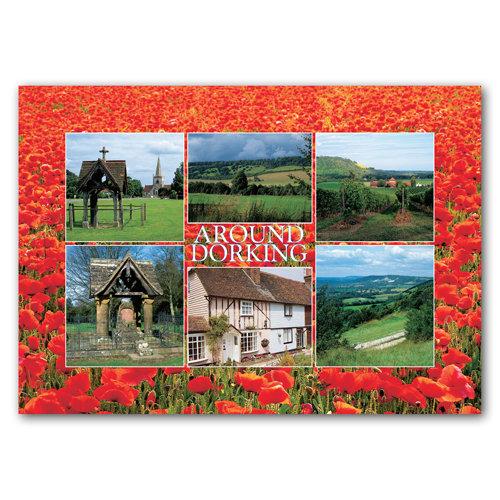 Dorking - Sold in pack (100 postcards)