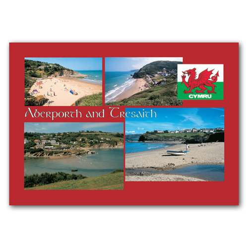 Aberporth & Tresaith - Sold in pack (100 postcards)