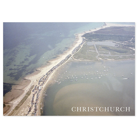 Hengitsbury Head, Christchurch - Sold in pack (100 postcards)