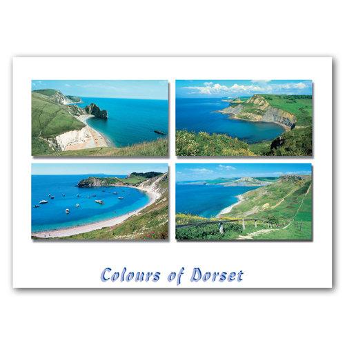 Dorset Just Coast Line Comp - Sold in pack (100 postcards)