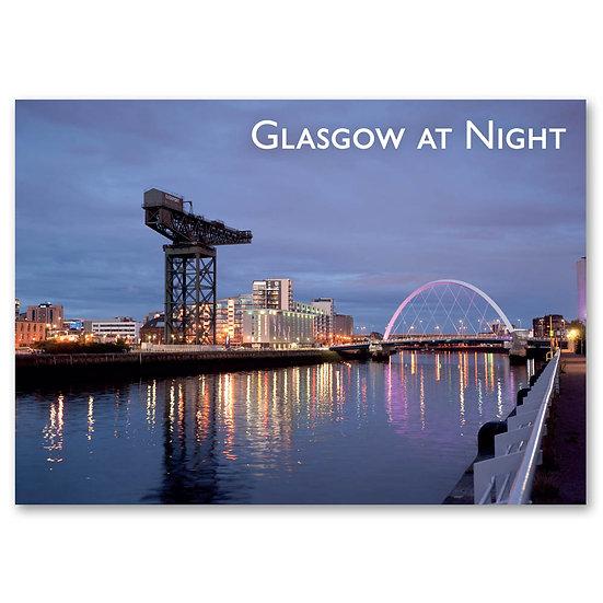 Glasgow, Finnieston Crane, Clyde Navigation Trust - Sold in pack (100 postcards)