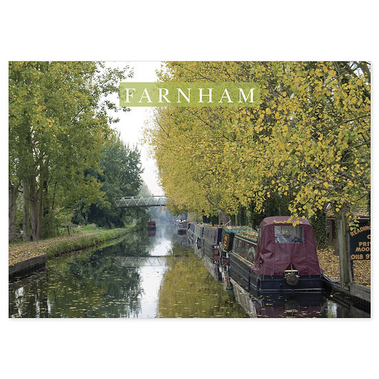 Farnham Canal - Sold in pack (100 postcards)