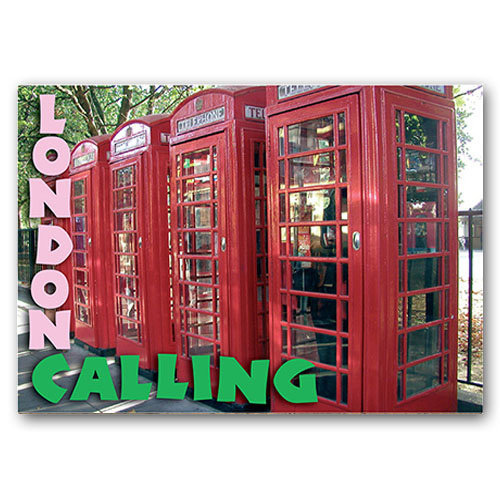 London Calling - Sold in pack (100 postcards)
