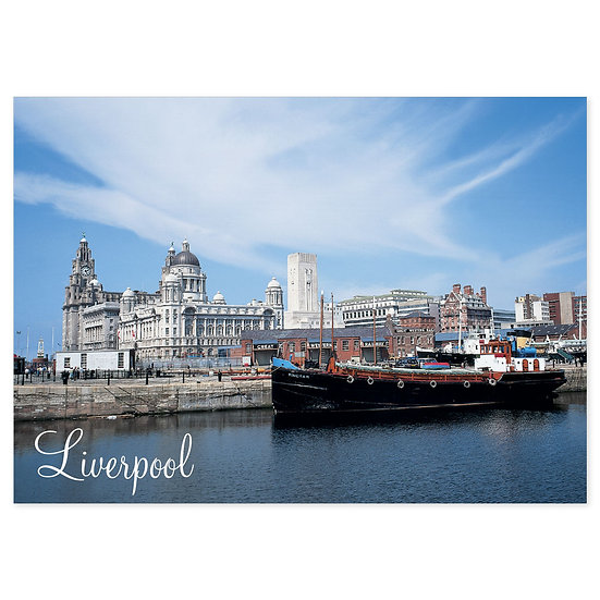Liverpool - Sold in pack (100 postcards)