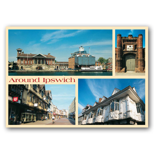 Ipswich - Sold in pack (100 postcards)