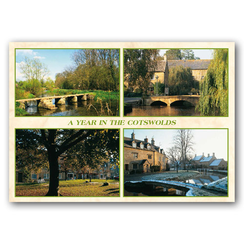 Cotswolds Year 4 View Comp - Sold in pack (100 postcards)