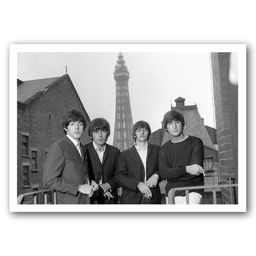 Blackpool - The Beatles in - Sold in pack (100 postcards)