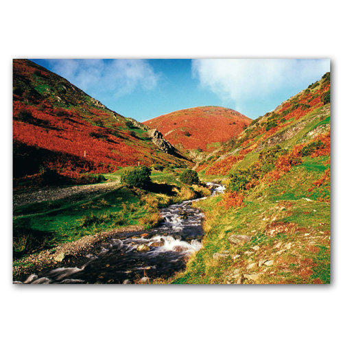 Carding Mill Valley Autumn - Sold in pack (100 postcards)