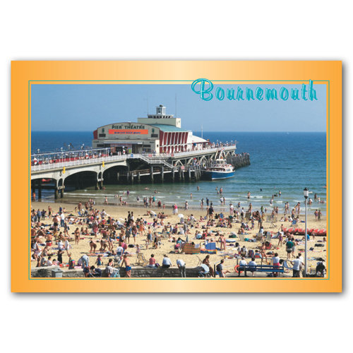 Bournemouth - Sold in pack (100 postcards)