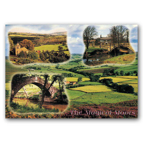 North York Moors Magical - Sold in pack (100 postcards)