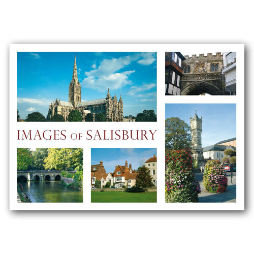 Salisbury - Sold in pack (100 postcards)