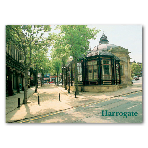 Harrogate Crown Place - Sold in pack (100 postcards)