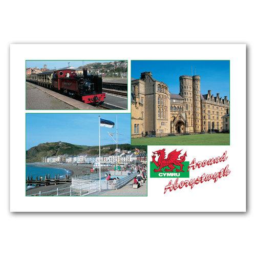 Aberystwyth Around - Sold in pack (100 postcards)