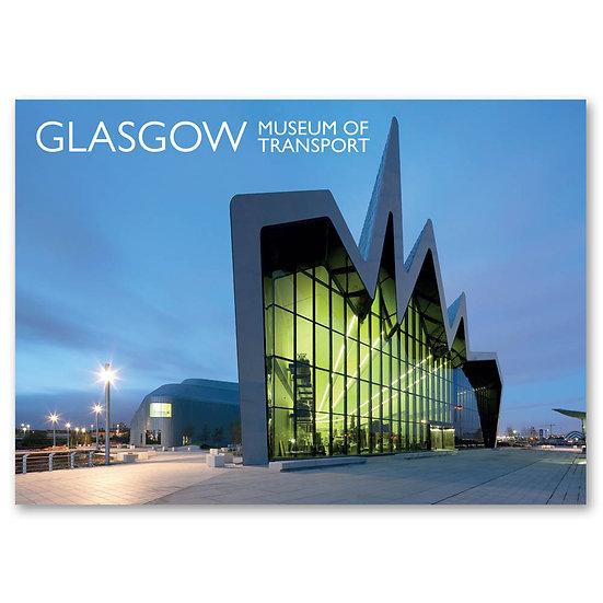 Glasgow Riverside Museum Of Transport - Sold in pack (100 postcards)