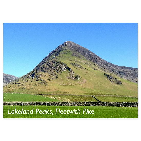 Lakeland Peaks, Fleetwith Pike - Sold in pack (100 postcards)
