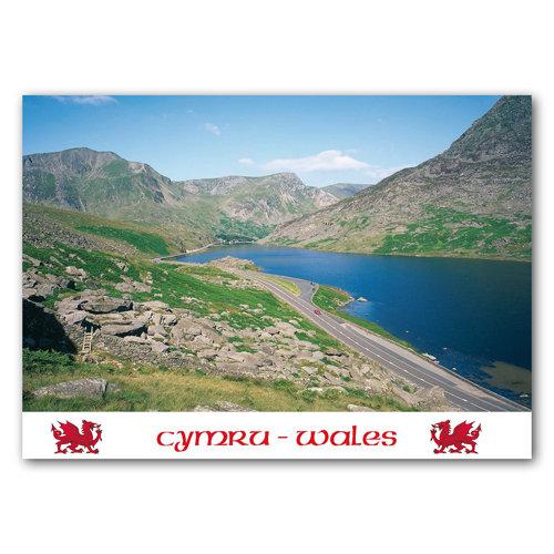 Wales Llyn Ogwen - Sold in pack (100 postcards)