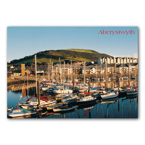 Aberystwyth Marina - Sold in pack (100 postcards)