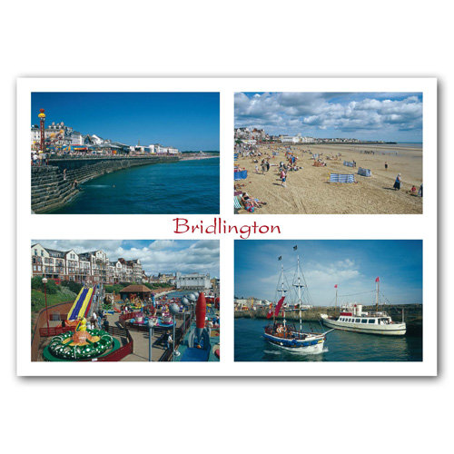 Bridlington - Sold in pack (100 postcards)