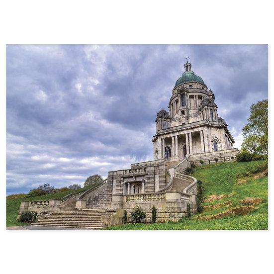 Lancaster Ashton Memorial - Sold in pack (100 postcards)