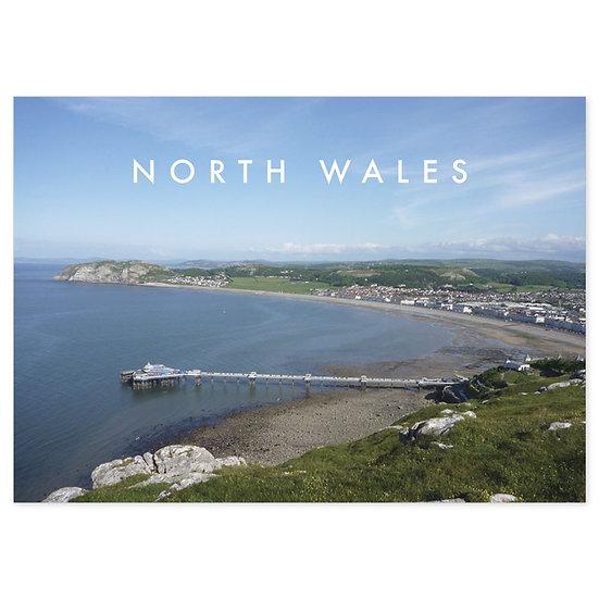Llandudno North Wales Naturally - Sold in pack (100 postcards)