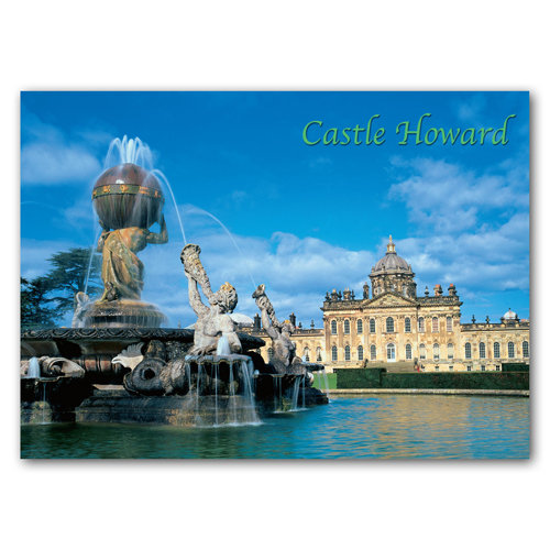 Castle Howard - Sold in pack (100 postcards)