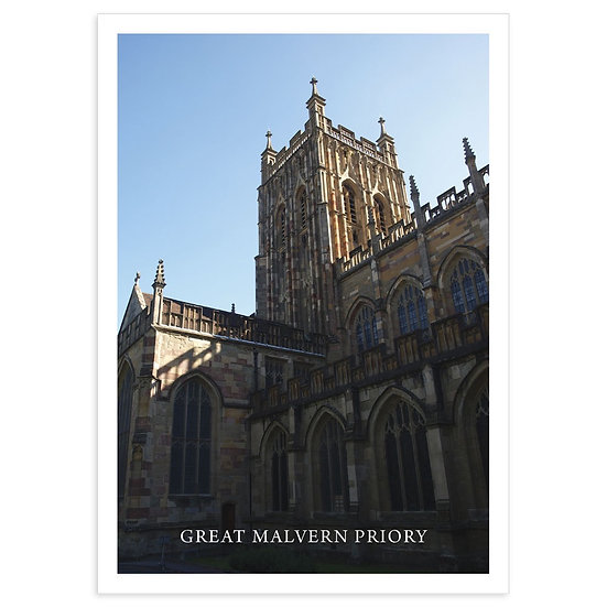 Great Malvern Priory - Sold in pack (100 postcards)