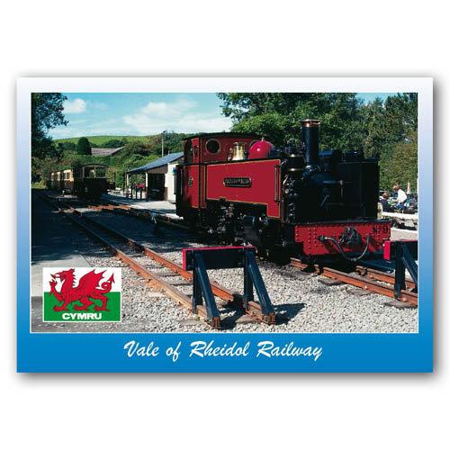 Aberystwyth, Rheidol Railway - Sold in pack (100 postcards)