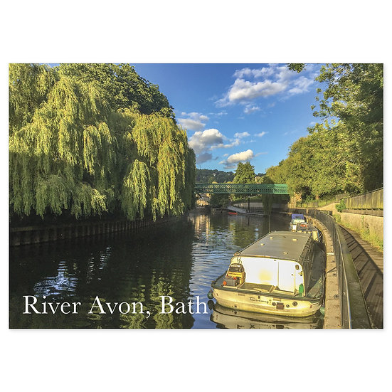 Bath River Avon - Sold in pack (100 postcards)