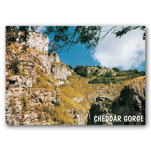Cheddar Gorge - Sold in pack (100 postcards)