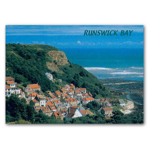 Runswick Bay - Sold in pack (100 postcards)