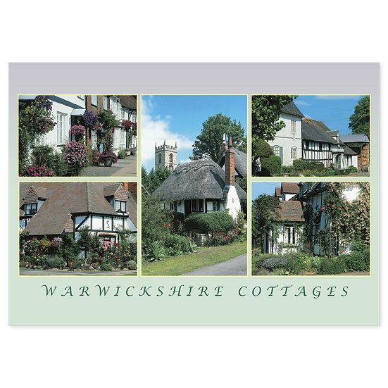 Warwickshire Cottages - Sold in pack (100 postcards)