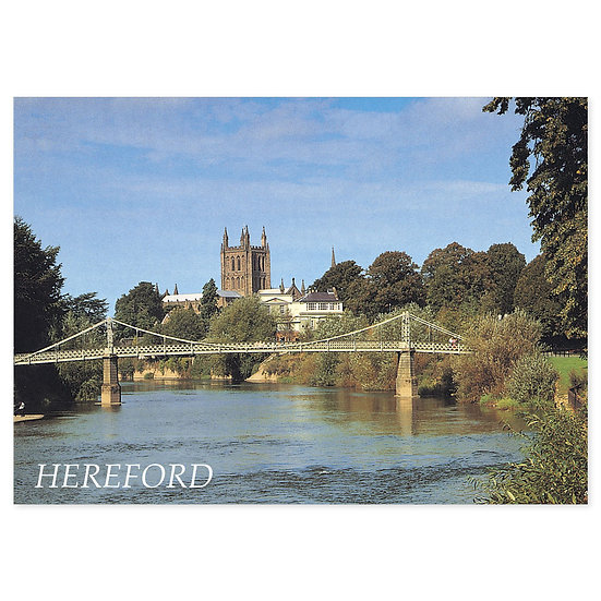 Hereford - Sold in pack (100 postcards)