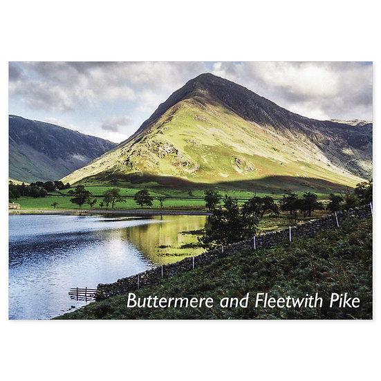 Buttermere and Fleetwith Pike - Sold in pack (100 postcards)