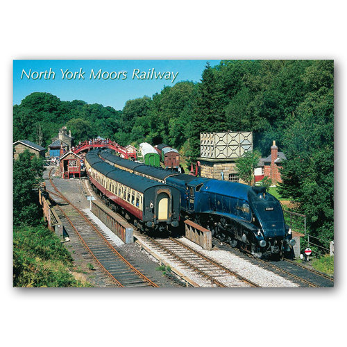 Goathland North York Moors Railway - Sold in pack (100 postcards)