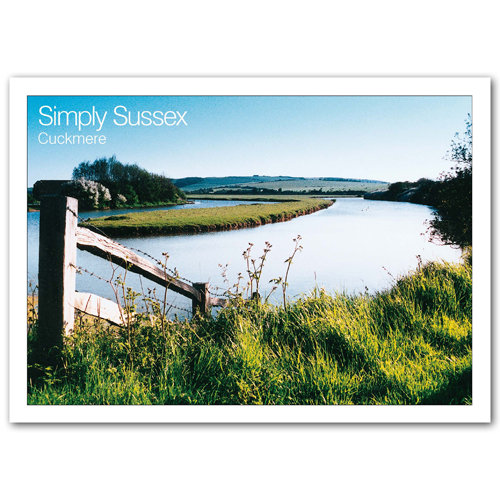 Sussex Simply Cuckmere - Sold in pack (100 postcards)