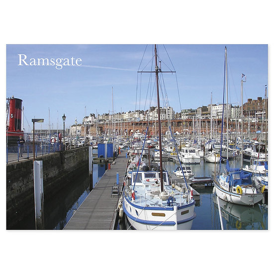 Ramsgate Harbour - Sold in pack (100 postcards)