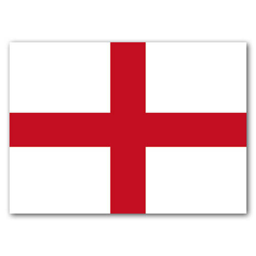 British St George's Cross - Sold in pack (100 postcards)