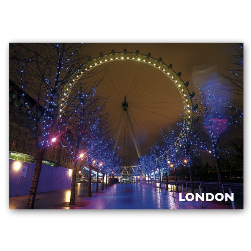 London Eye - Sold in pack (100 postcards)