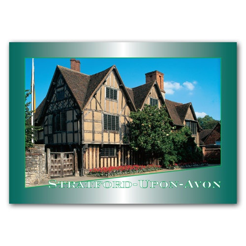 Stratford-Upon-Avon - Sold in pack (100 postcards)