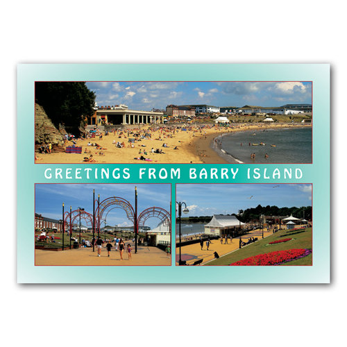 Barry Island - Sold in pack (100 postcards)