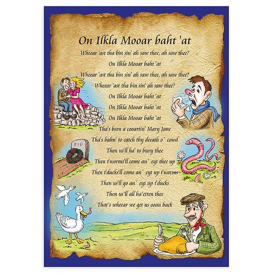 Ilkley Moor Cartoon - Sold in pack (100 postcards)
