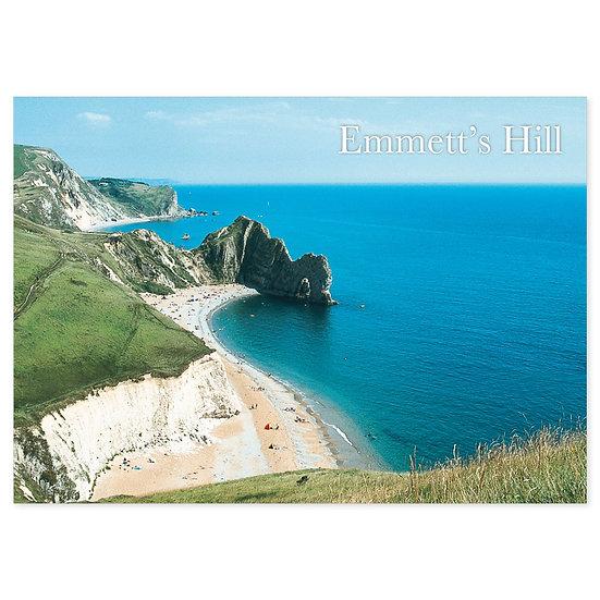 Emmetts Hill, Dorset Just - Sold in pack (100 postcards)